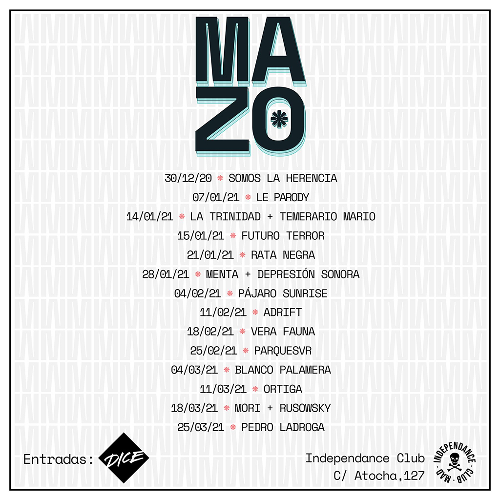 Mazo Madrid - programación 2020-2021