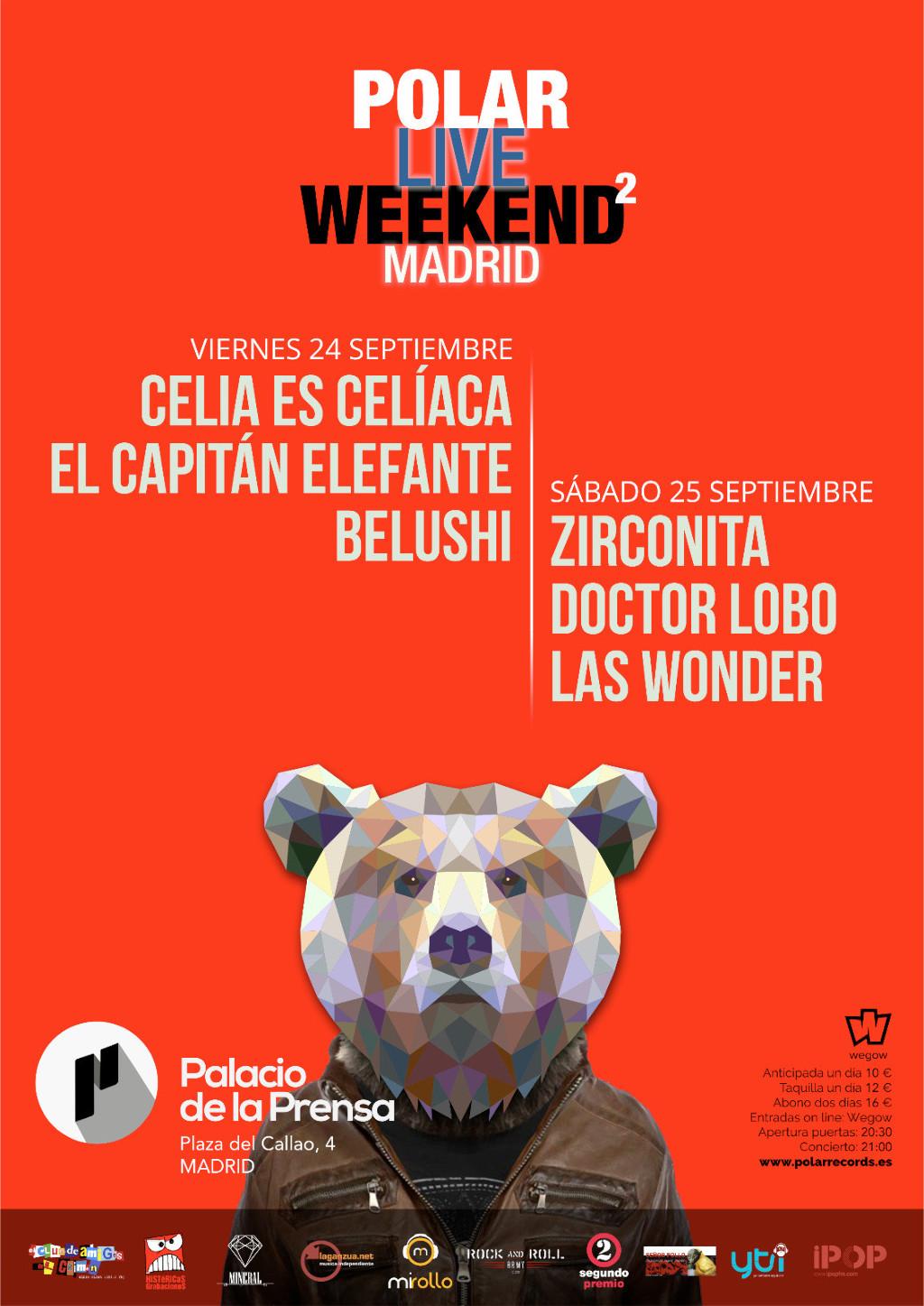 Polar Live Weekend 2 Madrid